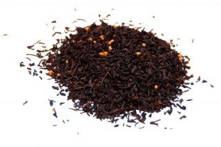 Té de caramelo Té negro con trozos de caramelo