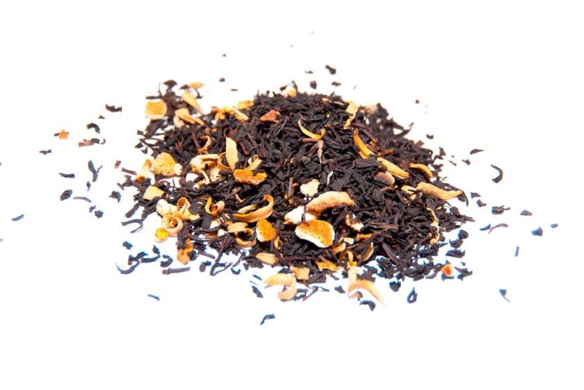 Té de azahar Egipcio Té negro con corteza de naranja, flor de azahar