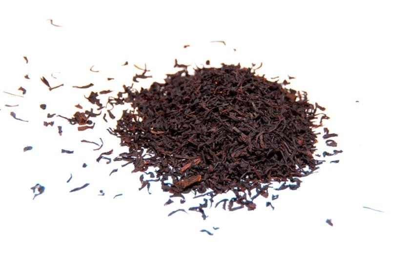 Té de vainilla Té negro con trozos de vainilla