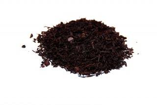 Té de chocolate Té negro con trozos de chocolate