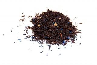 Té de violeta Té negro con flor de malva, pétalos de aciano