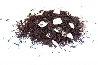 Té de coco Té negro con trozos de coco
