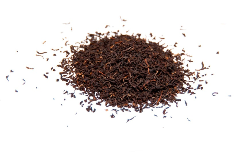 Té Assam Bop, originario de la India. Té negro generoso con cuerpo, firmeza y fuerza, astringente y con sabor picante