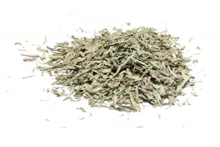 Estragón hojas secas. Planta con sabor sutil y sofisticado, esencial en la comida francesa