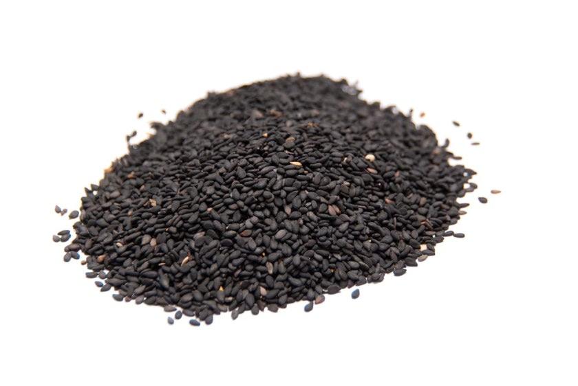 Sésamo negro semillas