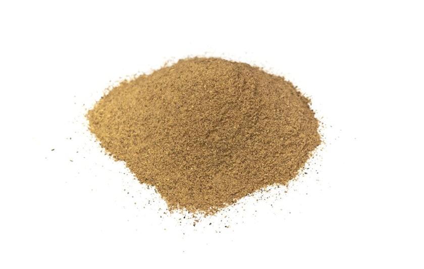 Garam masala (mezcla caliente) es una mezcla de especias tradicional del norte de la india. Se usa en platos de carne. Composición: sal, canela, cilantro, cominos, pimienta negra y clavo