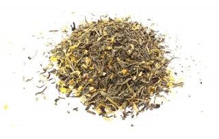 Té verde desteinado canela limon Té verde desteinado con corteza de cítricos, canela, rodaja de limón, azahar
