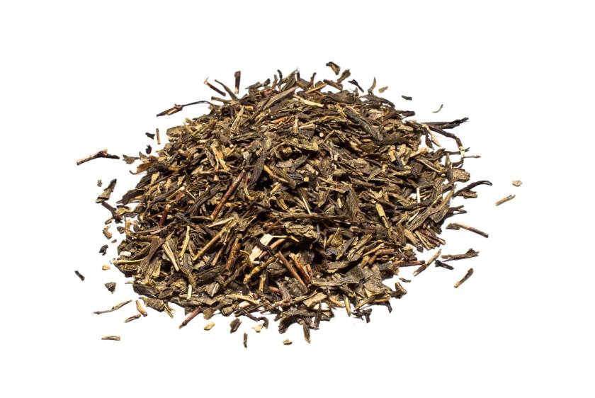 Te verde Bancha China BIOLOGICO. Té verde de hoja larga y prensada de carácter aromático y suave.