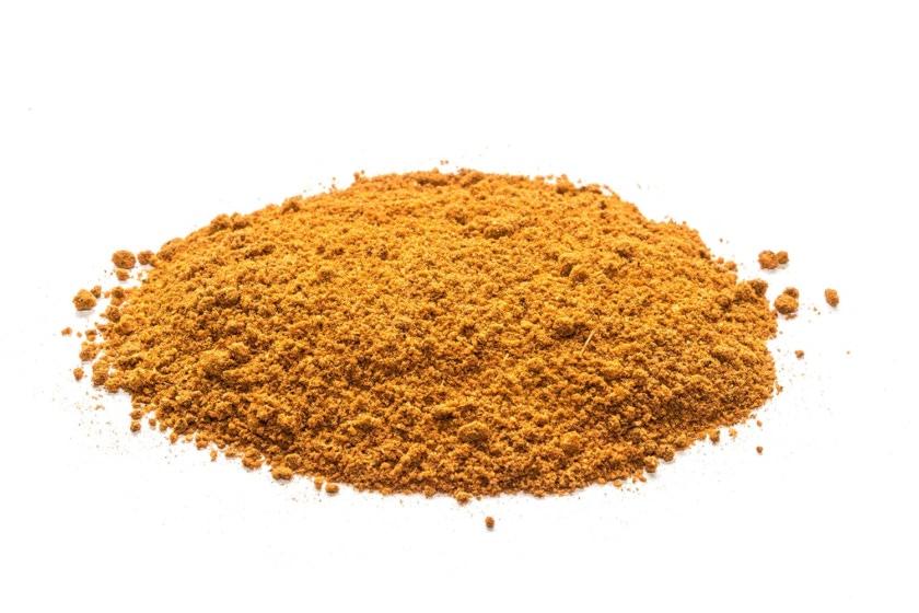 Cajun mezcla de especias seleccionadas con cúrcuma