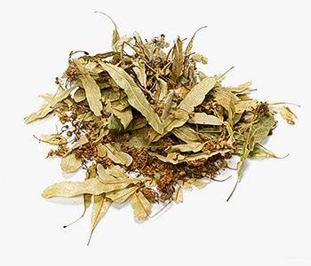 Sección de productos de hierbas para infusiones