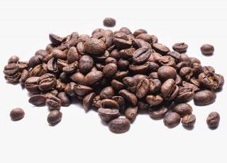 Granos de Café descafeinado originario de México, de la región de Pico de Orizaba.