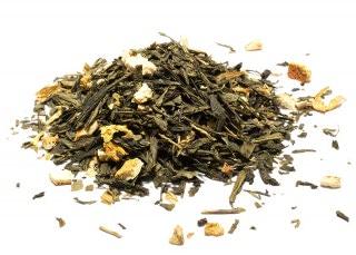 Infusión de té de jengibre y limón