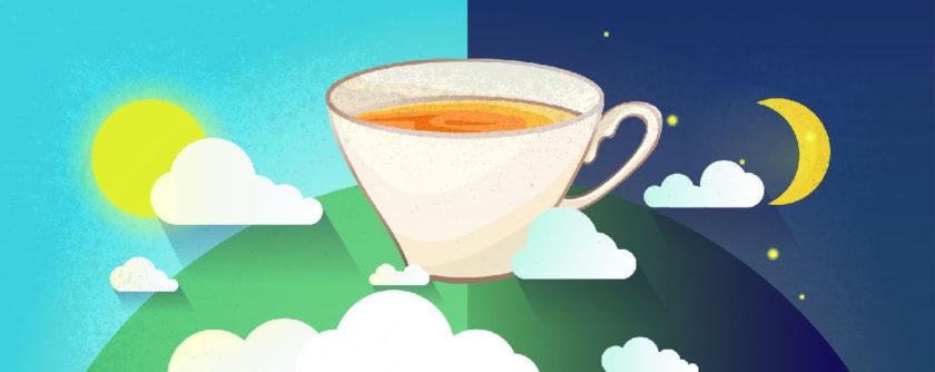¿Sabías que cada té está ideado para tomar a una hora determinada del día?