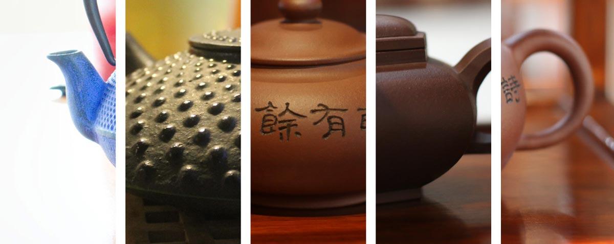 ¿Cuantos tipos de tés existen?. Composición de teteras del mundo