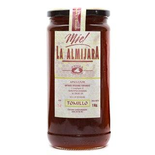 Miel de Tomillo. La Almijara del apicultor Antonio Jerónimo (Granada). Producción limitada. Bote 1kg. Especias Barranco