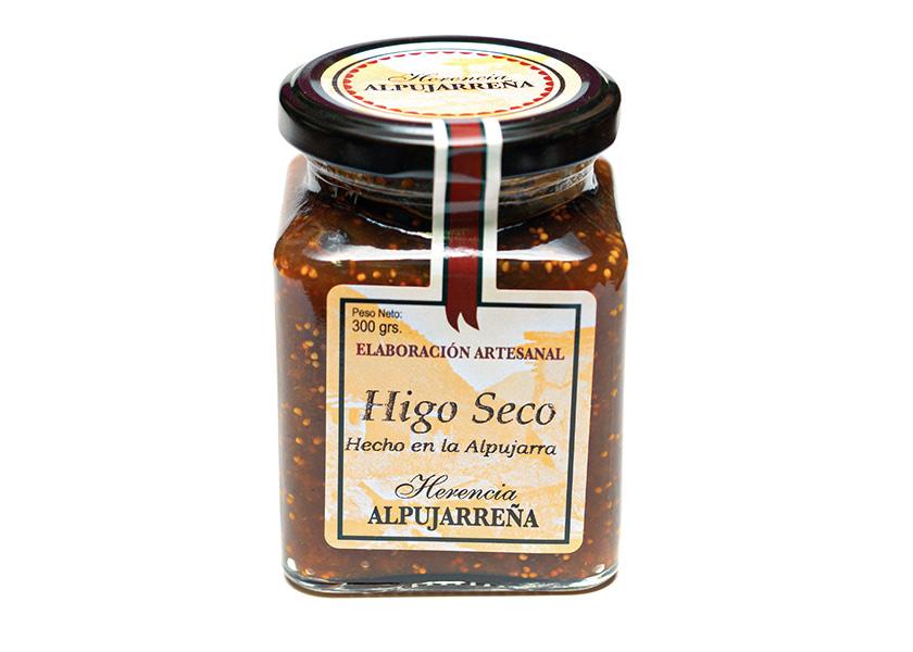 Mermelada de Higo Seco. Herencia de la Alpujarra. Mermerlada casera artesanal de Granada.