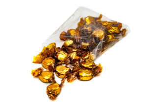 Caramelos de miel y Jengibre. Miel 100% de origen natural de Sierra Morena